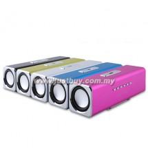 Music Angel JH-MAUK2 Radio Portable Stereo Speaker