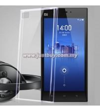 Xiaomi Mi 3 TPU Rubber Silicone Case - Transparent
