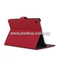 Xiaomi Mi Pad Matte Leather Case - Red