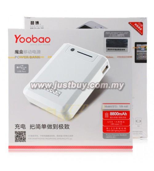 buy yoobao yb645 8800mah power bank malaysia. Black Bedroom Furniture Sets. Home Design Ideas